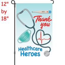 56323  Healthcare Heroes : PremierSoft(TM) Garden Flag (56323)