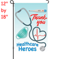 56323  Healthcare Heroes : PremierSoft(TM) Garden Flag (56323)