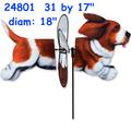 24801 Basset Hound: Deluxe Petite Spinner