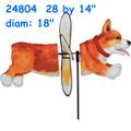 24804 Corgi: Deluxe Petite Spinner