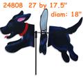 24808 Black Lab: Deluxe Petite Spinner