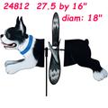 24812 Boston Terrier: Deluxe Petite Spinner
