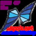 22393  Blue: Butterfly Spinner (22393)