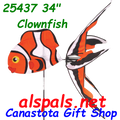 25437 Clown Fish  ,  Aquatic Life Spinners (25437)