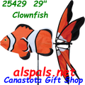 "25429 24"" Clownfish  ,  Aquatic Life Spinners (25429)"