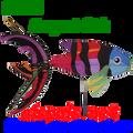 25438 Sergeant Fish  ,  Aquatic Life Spinners (25438)