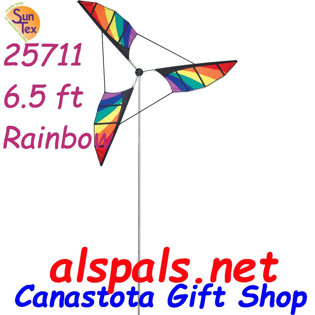 Rainbow 6 5', Wind Generators Wind Spinners & Wind Blades