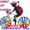 "26862  Ladybug   20"" Bicycle Spinners (26862)"