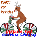 "26871  Reindeer 20"": Bicycle Spinners (26871)"