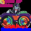 26763  Skeleton : Car Spinners (26763)