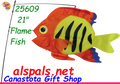 26509  Flame Fish Swimming Fish (26509)