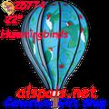 "25774 Hummingbird 22"" Hot Air Balloons (25774) Wind Spinner"