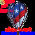 """25778 Patriotic 22"""" Hot Air Balloons #25778"""