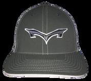 Monsta Puff Logo Hat -Graphite/White-Gry/Wht