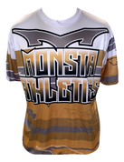 Monsta Athletics Bomb Jersey - Gold