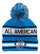 A3 Pom Beanie - Carolina Blue
