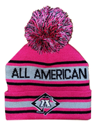 A3 Pom Beanie - Pink