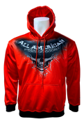A3 THE BEGINNING HOODIE - Red