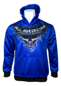 A3 THE BEGINNING HOODIE - Royal