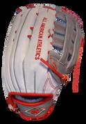 A3 Pro Series Fielding Glove - Wht/Gry