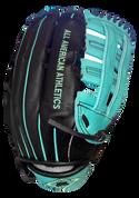 A3 Pro Series Fielding Glove - Blk/Trq