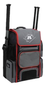 A3 PLAYER BAT PACK XL - Charcoal/Red