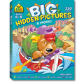 Big Hidden Pictures & More! Workbook (320 Pages) (Paperback)
