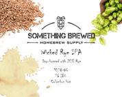 Wicked Rye IPA - All Grain Kit