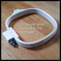 "Diane's Special Flip Up Frame - Additional 12"" Square Hoop"