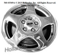 00-02 Lincoln LS 16 Inch Wheels