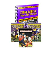 Playbook & Installation Manaul;  Tackling & Pursuit Drills DVD; Youth Even Front Defense DVD;  Youth Odd Front Defense DVD