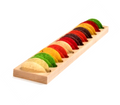 Mini Taco Shell Maple 12-Spot Board