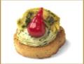 Peruvian Pepper & Artichoke Crostini - SPECIAL ORDER ONLY