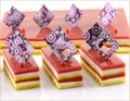 Opera Patisserie Strawberry Passion Fruit Half Sheet