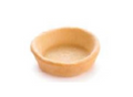 "Pidy 3.25"" Round Puff Pastry Neutral Tart Shell"
