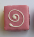 Dragonfly Teacake - Raspberry