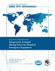 ASSE Standard #1071-2012(R2021)