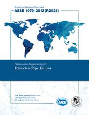 ASSE Standard #1079-2012(R2021)