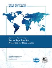 ASSE Standard #1072-2020