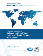ASSE Standard #1049-2021 (Download)