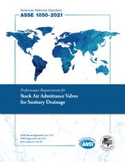 ASSE Standard #1050-2021 (Download)