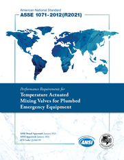 ASSE Standard #1071-2012(R2021) (Download)