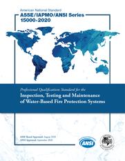 ASSE/IAPMO/ANSI Series 15000-2020
