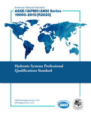 ASSE/IAPMO/ANSI Series 19000-2015(R2020) (Download)