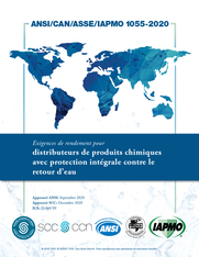 ANSI/CAN/ASSE/IAPMO 1055-2020 (French) (Download)
