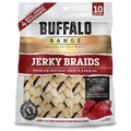 Buffalo Range Jerky Braids Smoked 10 Ct. / 9.25 oz.