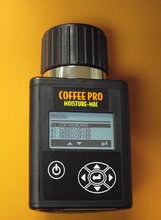 """SPECIFICATIONS:  Operating Range (Moisture): 5% to 40% depending on  coffee tested in ten seconds.   Operating Range (Temperature):     32° - 113° F (0° - 45° C).   Repeatability:    +/- 0.5% in normal moisture range   Accuracy:             +/- .05% in normal moisture range    Display Resolution:    0.1% moisture.   2 year warranty in North America and 1 year overseas.   NEWLY REVISED COFFEE CURVES Includes Robusta, Arabica, Dry Cherry, Parchment, & Cocoa Packed Dimensiions L 9"""" x W 5"""" x H 7"""" Weight: 3 lbs"""