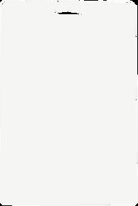 PRO PACK Standard Blister Cards D-WHITE