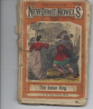 1861 BEADLE'S NEW DIME NOVELS #344 DIME NOVEL STORY PAPER