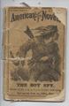 1872 FRANK STARR'S AMERICAN NOVELS #8 OLD COOMES INCOMPLETE RARE DIME NOVEL